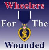 wheelers for the wounded logo