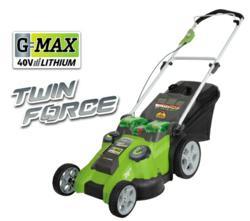 "G-MAX 40V 19"" 3-in1 Push Mower"
