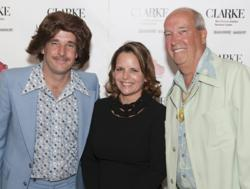 Karen Swanson of New England Design Works with Tom and Sean Clarke at Clarke Designer Appreciation Night