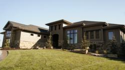 Advanced House Plans custom home in 2012 Omaha Street of Dreams