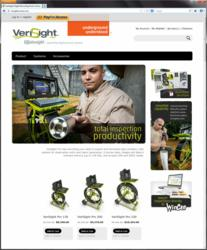Envirosight launches new website for online purchase of VeriSight Pro drain inspection camera.