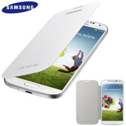 Genuine Samsung Galaxy S4 Flip Cover - White