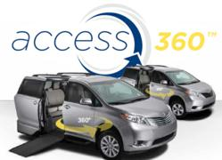 "VMI ""ACCESS 360"" Toyota Sienna lowered floor conversion"