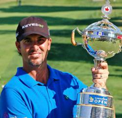 Scott Piercy, who is sponsored by KeyedIn Solutions, will be taking on Tiger Woods and luke Donald in the first round of The Masters 2013