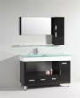 """Modern 55"""" Asymmetrical Bathroom Vanity And Mirror From Legion Furniture WT9116"""