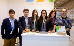 The team of Hotel Link Solutions Portugal at the 2013 Lisbon Tourism Fair