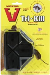 Kill up to three mice per setting with Victor's new Tri-Kill Mouse Trap