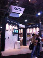 Kaba's Interactive Booth at ISC West 2013