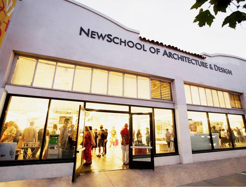 newschool of architecture and design names chair of digital media