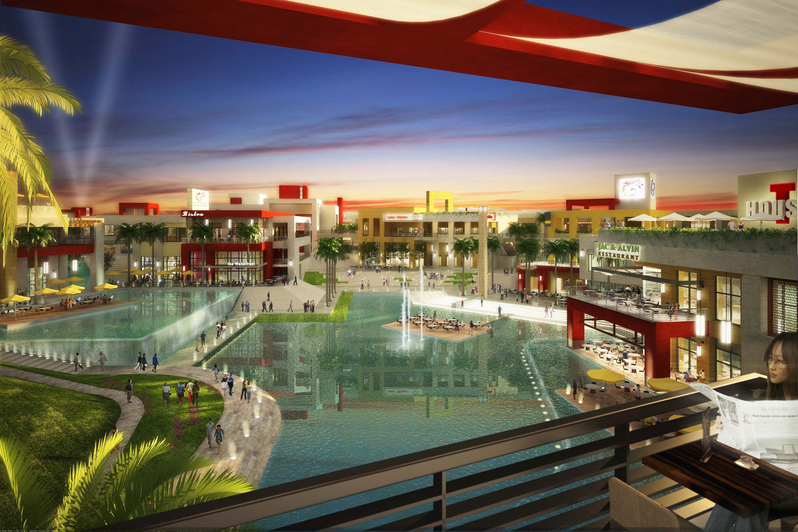i city mall project The new central i-city shopping centre is scheduled to open in the fourth  for  cpn, which is located in central pattana, the project is its.