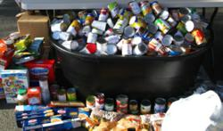 Last year IEMAS ended up with 1,120 cans of food plus many generous cash donations. Proceeds from donations are given to the 501(c)(3) non-profit GAP Food Bank.