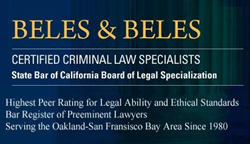 San Ramon Criminal Defense