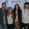 Tim Gorski, Juliette West, Jorja Fox and Synthian Sharp at Artivist