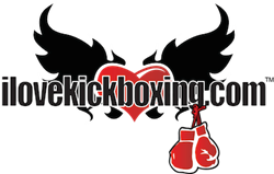 iLoveKickboxing.com Fitness Kickboxing Program and Franchise Logo