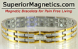 New Magnetic Bracelet for Pain Relief Announced Superior Magnetics