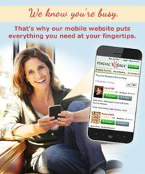 Psychic Source Mobile Site