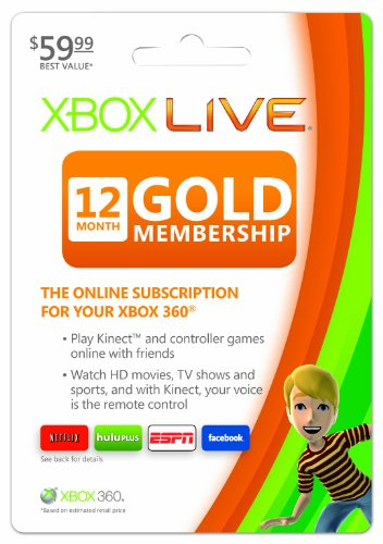 What to know before buying a 12 Month Xbox Live Gold Membership Card. An Xbox LIVE Gold membership requires users to have a broadband internet connection available. For voice communication, a headset is required.5/5(K).