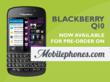 BlackBerry Q10 Deals Come to Mobilephones.com