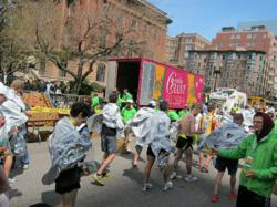 Gentle Giant Moving Company at the Boston Marathon