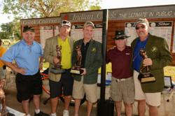 A tournament-record $56,380 was raised for two Dallas-area charities at last year's AUSA Wounded Warrior Golf Classic.