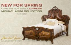 Expanded Michael Amini Catalog landing Page for BFS