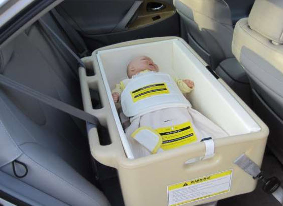 Car Bed For Special Needs Infants Designed By Merritt