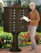 Deluxe Cluster Mailbox Unit