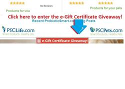 ProbioticSmart.com eGift Certificate