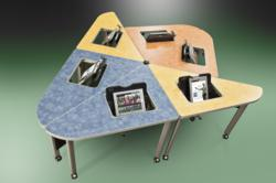 ipad flipIT Desk Accessories in iGroup Collaboration Table
