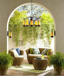 Lamps Plus Offers Outdoor Lighting and Furniture Tips for Creating an Outdoor Space