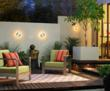 Create an Outdoor Space Using Lighting, Furniture and Decor Accents