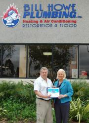 "San Diego plumbing company, Bill Howe's own, Mark Card, wins coveted ""IT of The Year"" award"