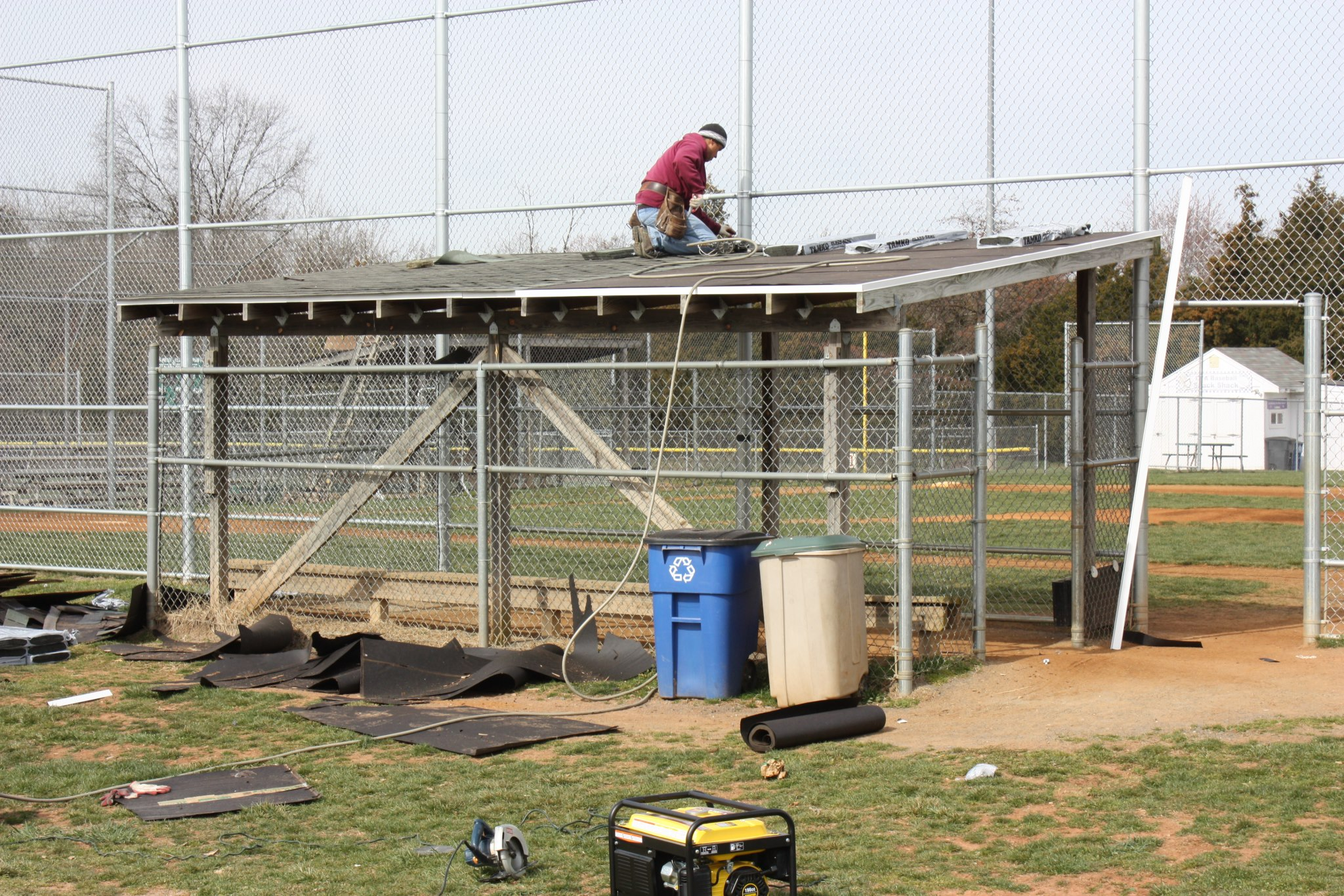 moss building  u0026 design remodels chantilly baseball dugouts