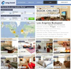 vacation rental offerings by OMG.TRAVEL