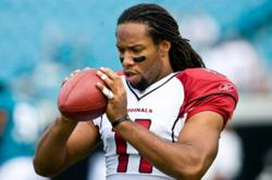 Larry Fitzgerlad, WR for Arizona Cardinals
