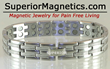 Superior Magnetics Announced New Magnetic Bracelet for Pain Relief