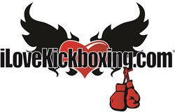 iLoveKickboxing.com Fitness Franchise Logo