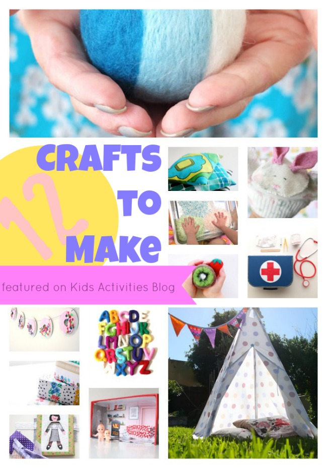 Crafts To Make At Home And A List Of 11+ Colorful Craft ...