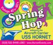 USS Hornet Museum Hosts Vintage 40s – 60s Spring Hop