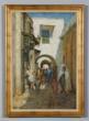 "Anna Richards Brewster, ""Street in Tunis,"" oil on canvas."