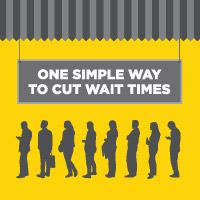 reduce customer wait time