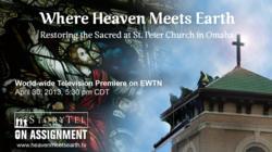Where Heaven Meets Earth Poster