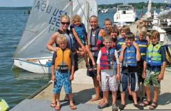 Sailing Camp at the North East River Yacht Club
