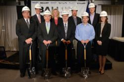 Balluff Groundbreaking Ceremony with Ky Gov. Steve Beshear, Balluff Inc. President Kent Howard and other local officials