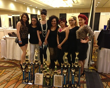 Salon success academy students win big at hair competition for Salon success