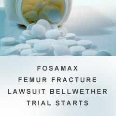 To discuss a potential Fosamax lawsuit or Fosamax Femur Fracture Lawsuit claim with one of the compassionate Fosamax lawyers at Alonso Krangle LLP, please contact us at 1-800-403-6191 or visit our website, FightForVictims.com
