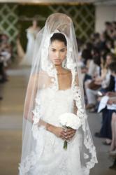 Oscar de la Renta haute couture spring veil