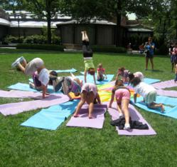 Lil Yogis NYC Releases Summer Schedule For 2013 Of Outdoor Kids Yoga Classes Across Manhattan