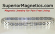 Magnetic Bracelet for the Ankle Relieves Pain Announces Superior...