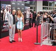 Actress & Fitness Celebrity Jennifer Nicole Lee with Ed Harris at World Premier of Pain & Gain by Michael Bay